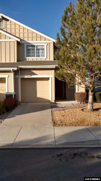 Washoe County Condo/Townhouse New: 9229 Lone Wolf Circle