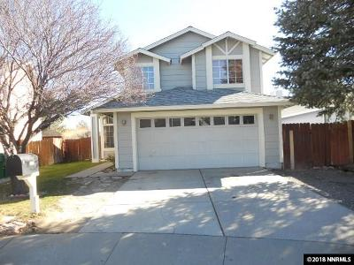 Reno Single Family Home New: 1110 Big Springs Road