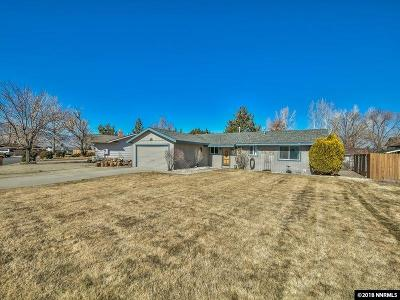 Gardnerville Single Family Home Active/Pending-Loan: 1240 Kingston Way