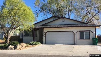 Fernley Single Family Home Price Reduced: 508 Shadow