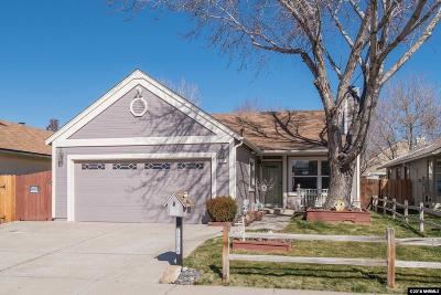 Washoe County Single Family Home New: 1784 Sabatino Drive