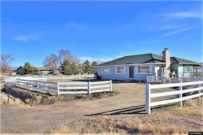 Washoe County Single Family Home New: 11520 Overland