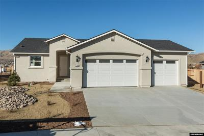 Washoe County Single Family Home Active/Pending-Loan: 1263 Avian Dr. Lot 18