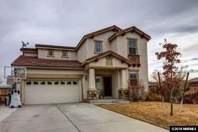 Washoe County Single Family Home New: 6638 Accolade