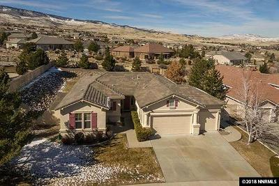Reno Single Family Home New: 5818 N White Sands