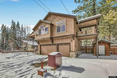 South Lake Tahoe CA Single Family Home Active/Pending-Loan: $849,000