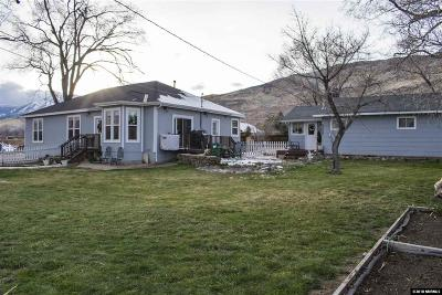 Washoe County Single Family Home New: 20995 S Virginia St