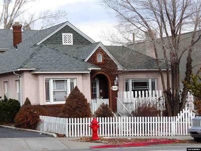 Washoe County Single Family Home New: 543 California Ave