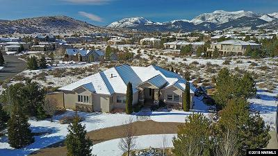 Washoe County Single Family Home New: 14245 Table Rock Court
