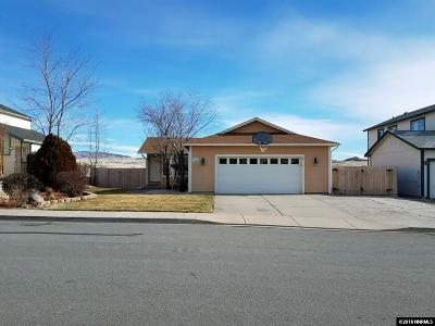 Washoe County Single Family Home New: 7550 Pah Rah Drive