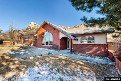 Carson City Single Family Home New: 3635 Lakeview Road