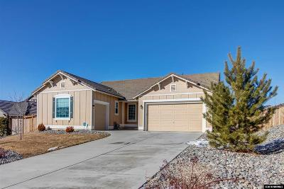 Washoe County Single Family Home New: 6783 Fabric Drive