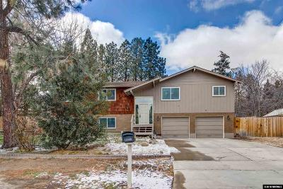 Washoe County Single Family Home New: 13460 Mahogany Drive