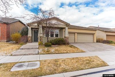 Washoe County Single Family Home New: 10529 Eagle Falls