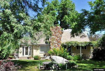 Washoe County Single Family Home New: 1355 Westwood