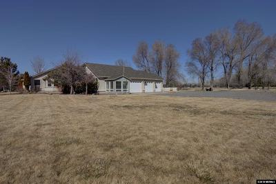 Gardnerville Single Family Home For Sale: 1590 Toler