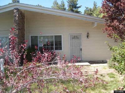 Washoe County Single Family Home New: 12293 Green Mountain
