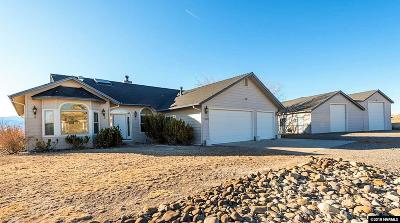 Gardnerville Single Family Home Active/Pending-Loan: 1536 Saltbush