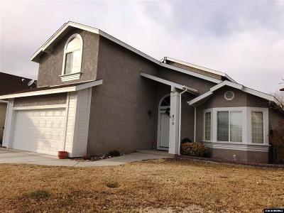 Fallon Single Family Home For Sale: 610 Sunset Drive