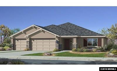 Carson City Single Family Home Active/Pending-Loan: 6511 Copper Mountain Drive