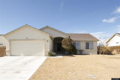 Silver Springs Single Family Home Active/Pending-Loan: 3095 Snowberry Street