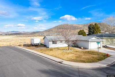 Carson City Single Family Home Active/Pending-Loan: 1401 Trolley Way