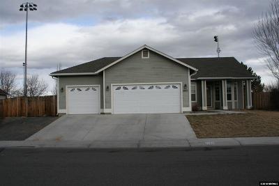 Gardnerville Single Family Home For Sale: 1445 Cardiff Dr