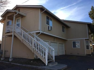 Reno Multi Family Home Active/Pending-Loan: 3707 Warren Way