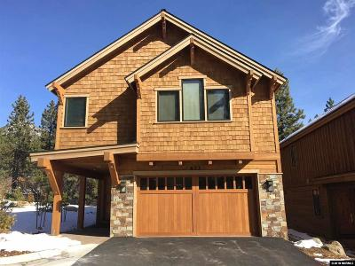 Incline Village Single Family Home For Sale: 655 Rosewood Circle