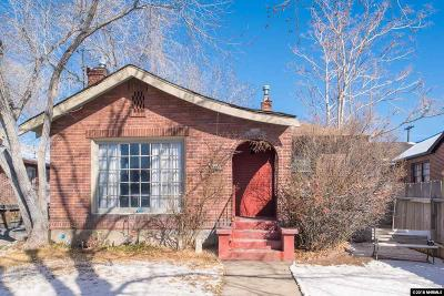 Reno Single Family Home For Sale: 351 Cheney Street