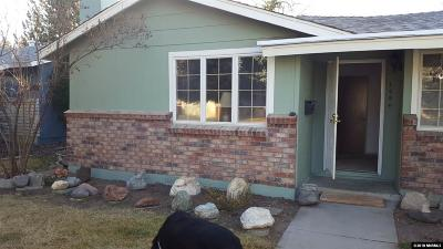 Carson City Single Family Home Active/Pending-Loan: 1954 Sunland