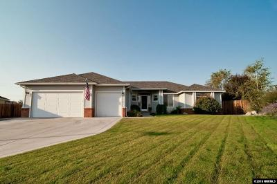 Gardnerville Single Family Home For Sale: 1043 Maverick Ct.