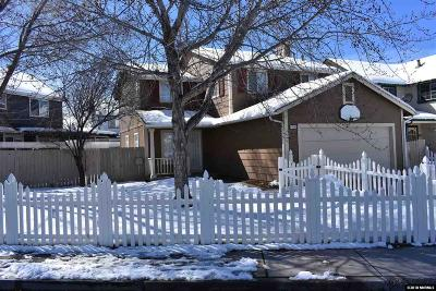 Carson City Single Family Home Active/Pending-House: 1789 Maple Creek Ln