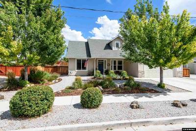 Gardnerville Single Family Home Active/Pending-Loan: 1357 Elges