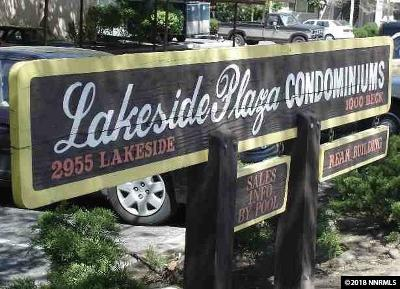 Washoe County Condo/Townhouse For Sale: 2955 Lakeside Dr. #215