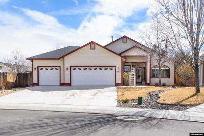 Gardnerville Single Family Home Active/Pending-House: 1411 S Marion Russell
