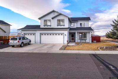 Gardnerville Single Family Home Active/Pending-House: 1340 Petar Drive