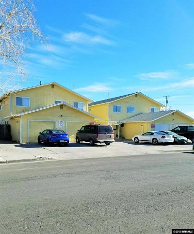 Fallon Multi Family Home For Sale: 661, 681 Humboldt #661, 669
