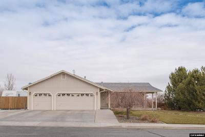 Sparks Single Family Home Active/Pending-Loan: 1459 Laughing Chukar Ct