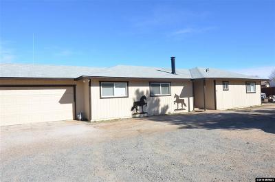 Carson City Single Family Home Price Reduced: 858 Jacks Valley