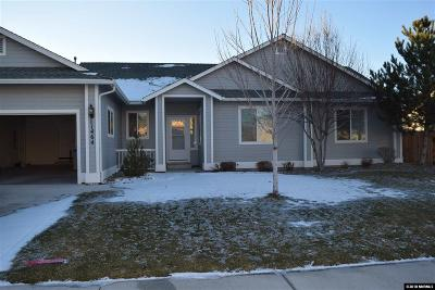 Gardnerville Single Family Home Active/Pending-Loan: 1464 Cardiff Drive