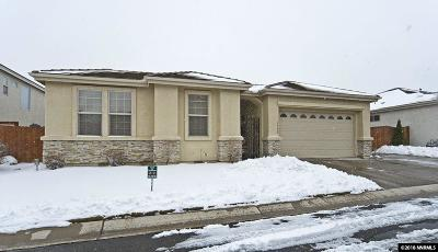 Carson City Single Family Home Active/Pending-Loan: 1192 Flintwood Dr