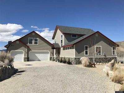 Carson City Single Family Home For Sale: 6665 Sierra Vista Ln