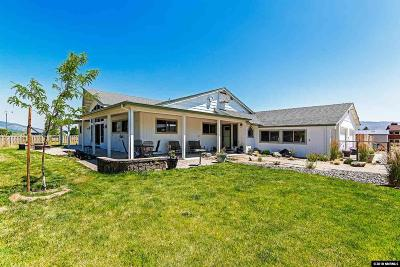Washoe County Single Family Home For Sale: 42 Bellevue Road