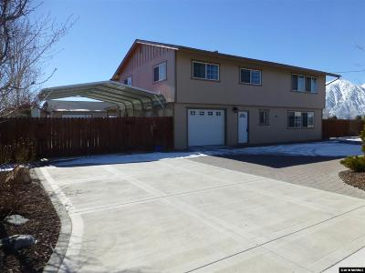 Gardnerville Single Family Home Active/Pending-Call: 1385 Topaz Lane