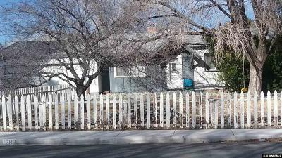 Sparks Single Family Home Active/Pending-Short Sale: 1280 Gault