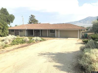 Reno Single Family Home For Sale: 10600 Whitehawk Dr