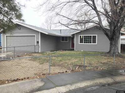 Carson City Single Family Home For Sale: 12 Arizona Cir
