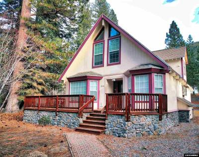 Incline Village Single Family Home For Sale: 194 Tramway