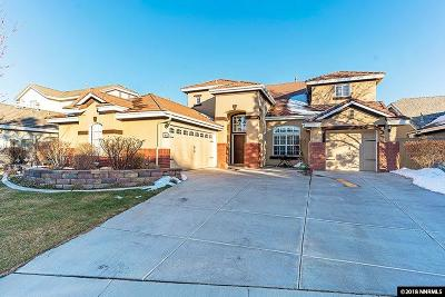 Reno Single Family Home Back On Market: 10358 Bronze Wood Ct